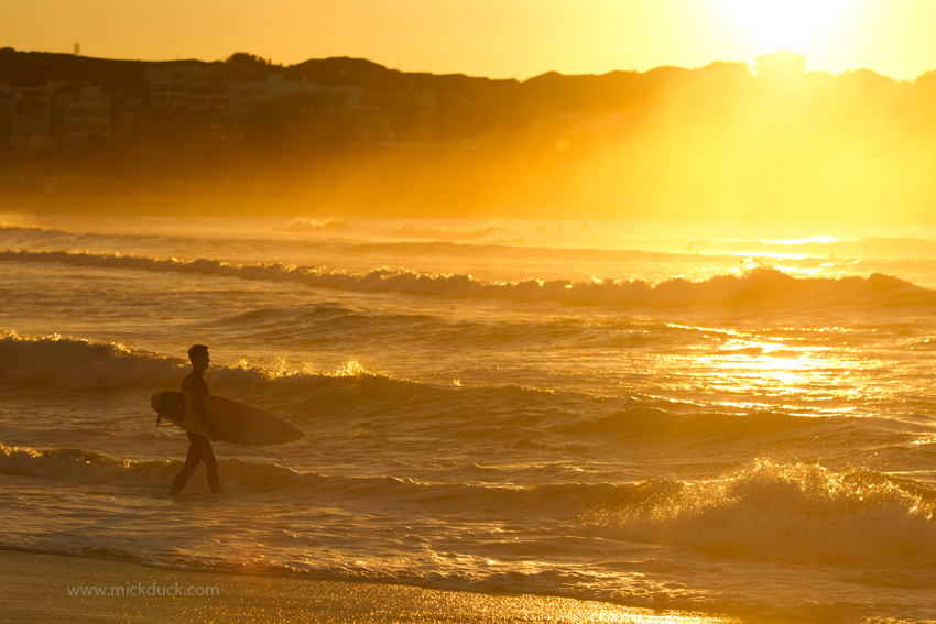 Bondi Beach Sunrise Surf Surfing Waves Surfboard Photographer Photography