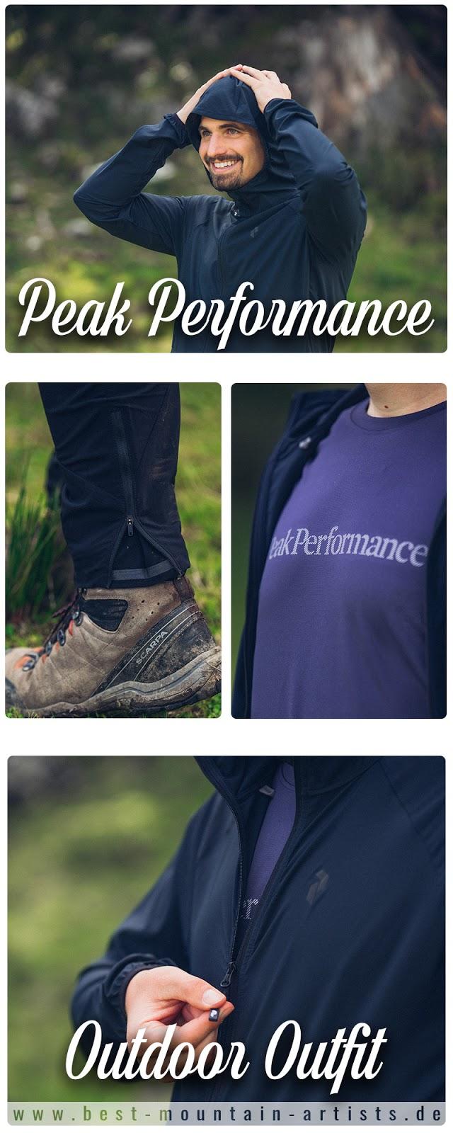 Gear of the Week #GOTW KW 39  Peak Performance Outdoor Outfit  T-Shirt Peak Performance Gallos Dark Slate  Jacke Peak Performance Fremont  Hose Peak Performance Method