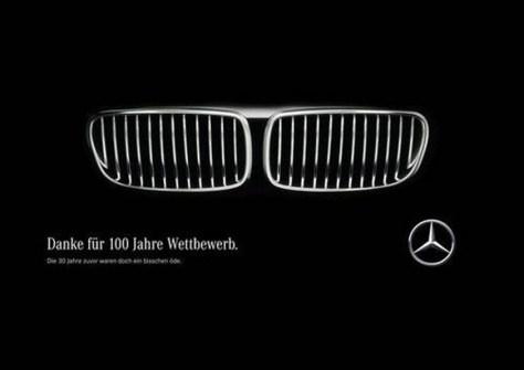 Mercedes souhaite un joyeux anniversaire à BMW (Vidéo)