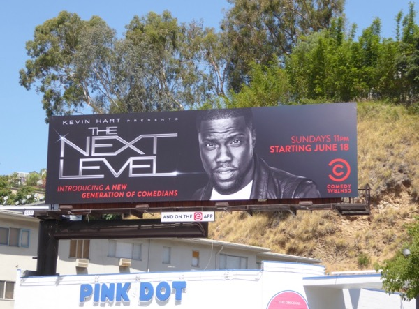 Kevin Hart Next Level series billboard
