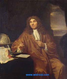 Portrait of Anton van Leeuwenhoek by Jan Verkolje.