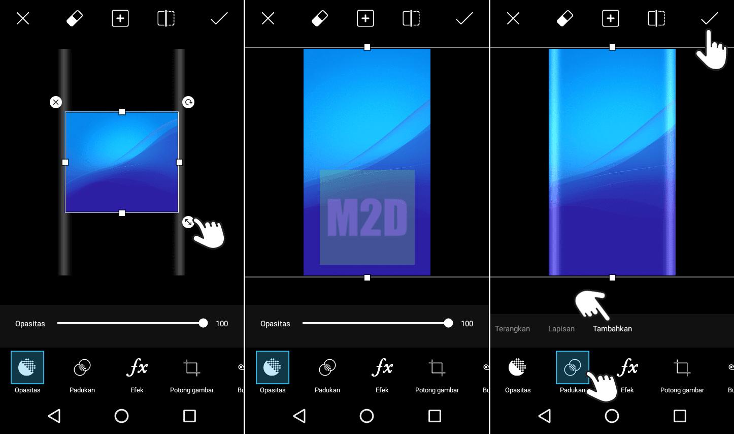 Cara Membuat Edge Wallpaper Di Android Dengan Picsart Memudahkan