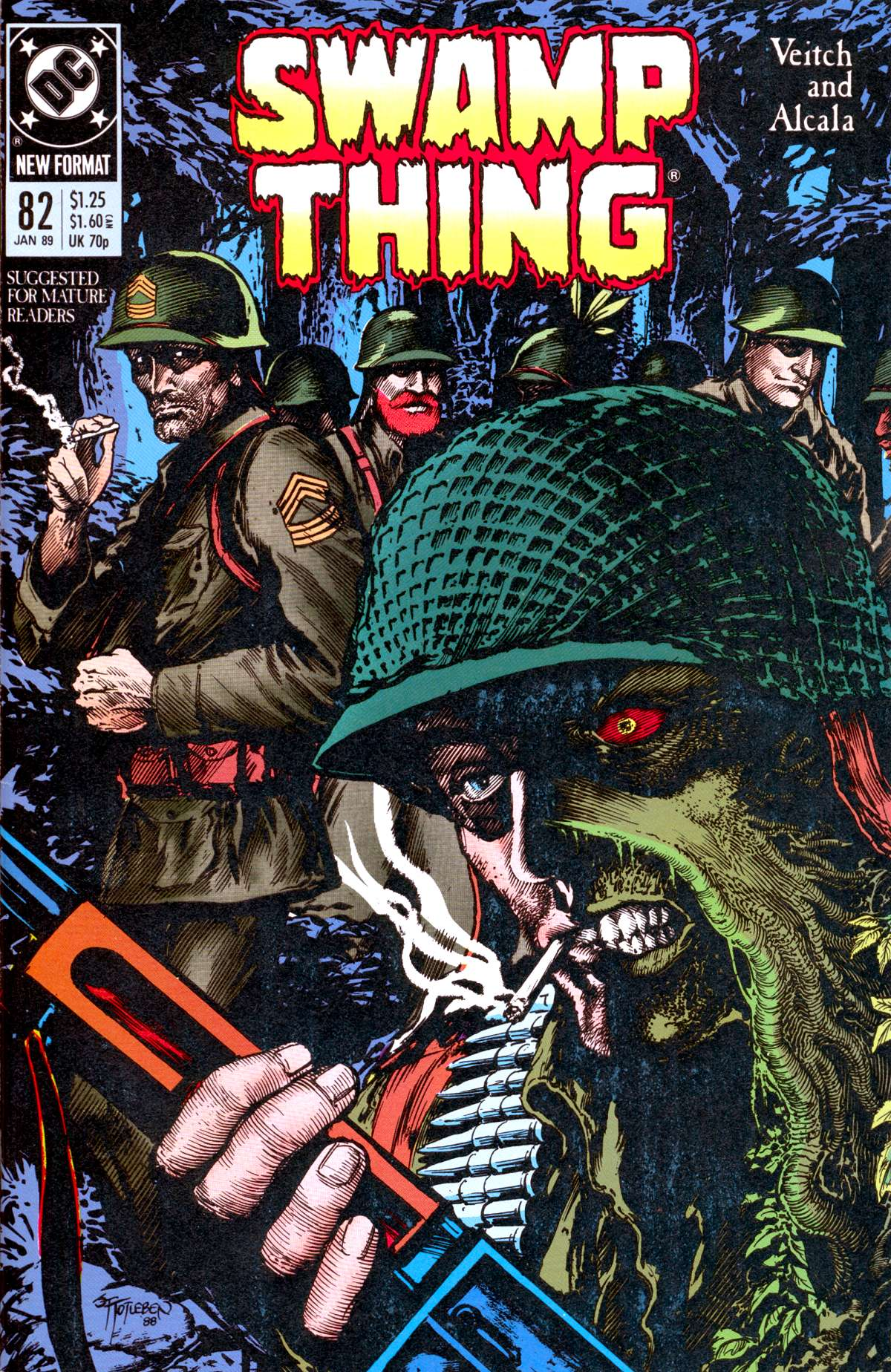Swamp Thing (1982) Issue #82 #90 - English 1