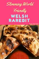Slimming world welsh rarebit recipe