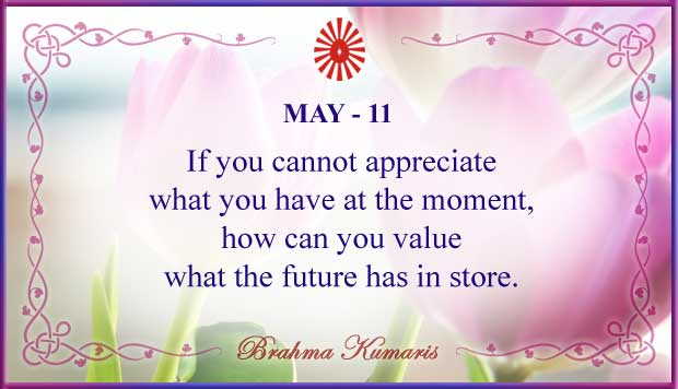 Thought For The Day May 11