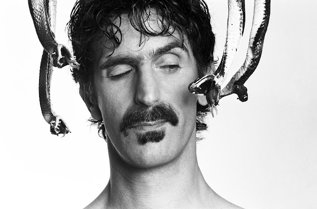 Frank Zappa just smells funny