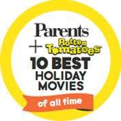 parents magazine top 10 christmas movies banner