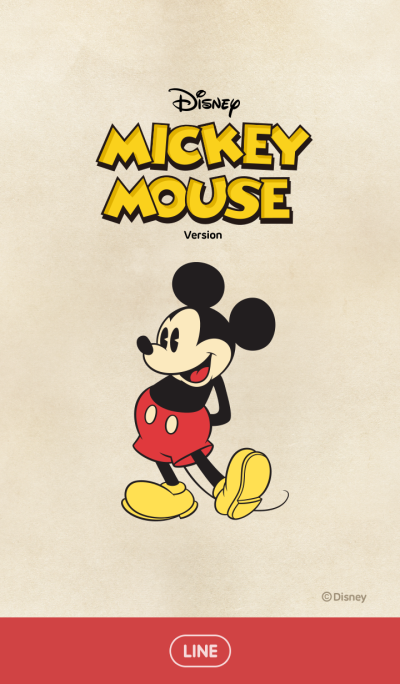 Mickey Mouse (Vintage Style)