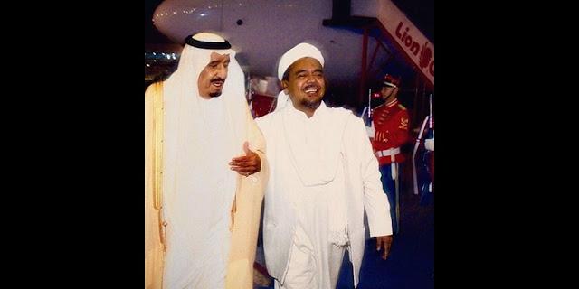 Habib Rizieq Shihab akhirnya bertemu dengan Raja Salman di Instagram