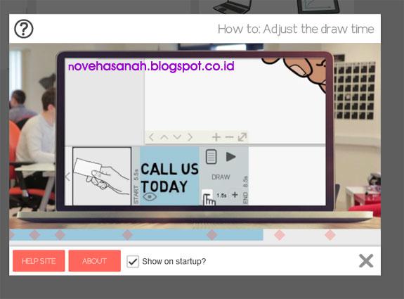 Cara Sign Up, Instal dan Log In di aplikasi Sparkol VideoScribe Free Akun untuk membuat video animasi untuk presentasi pembelajaran. 18