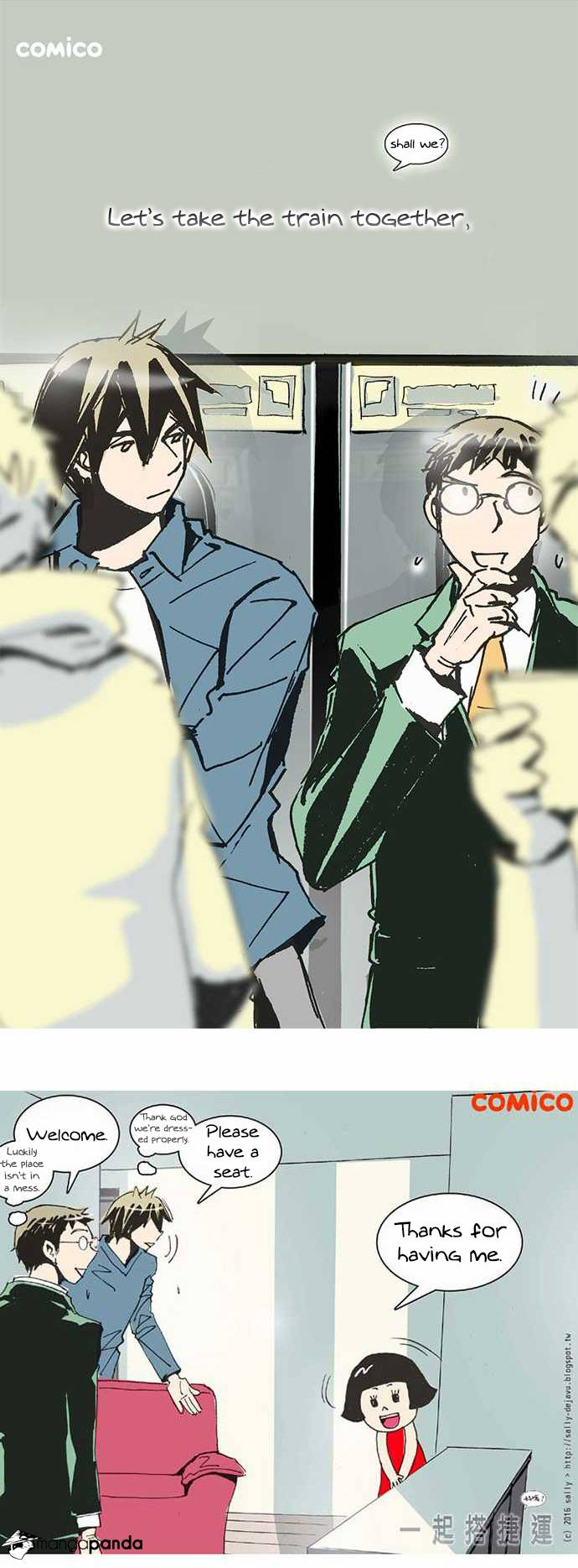 Lets Take the Train Together, Shall We? - Chapter 46