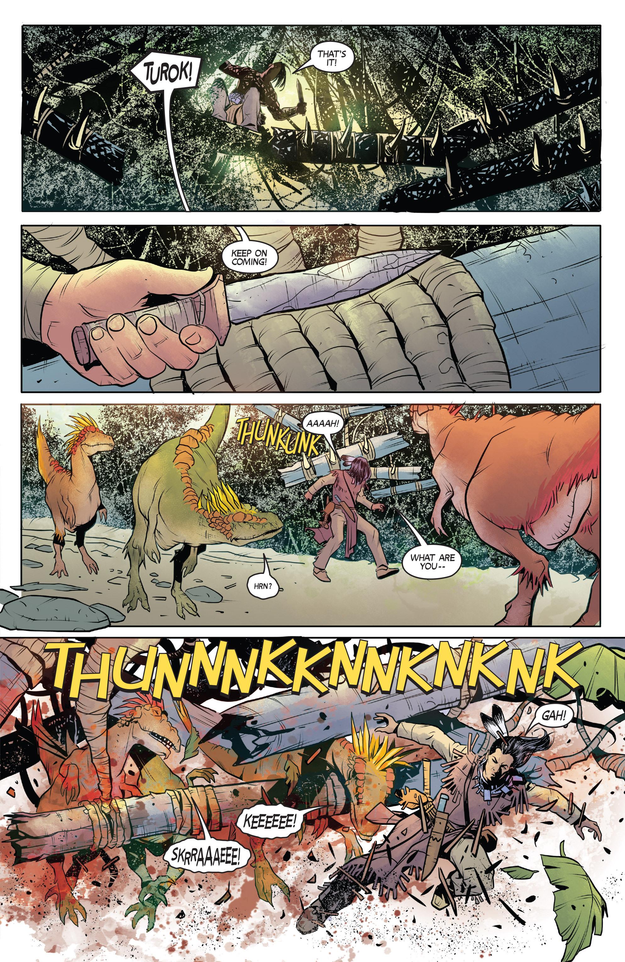 Read online Turok: Dinosaur Hunter (2014) comic -  Issue # _TPB 1 - 22