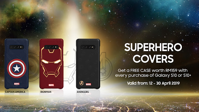 Special Edition Samsung Galaxy S10 Marvel's Superhero Covers