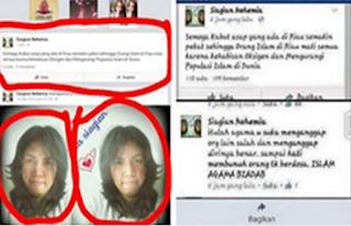 Astagfirullah Inilah Wanita Yang Ketakutan Setelah Menghina Islam
