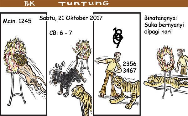 Prediksi Gambar Pak Tuntung Sabtu 21 10 2017