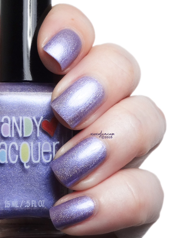 xoxoJen's swatch of Candy Lacquer In Bloom