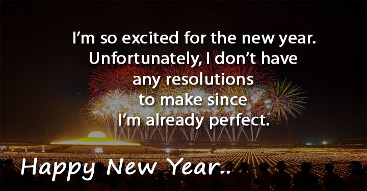 happy new year funny quotes and jokes