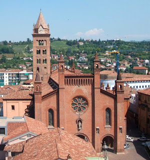 Photo of the Duomo at Alba in Piedmont