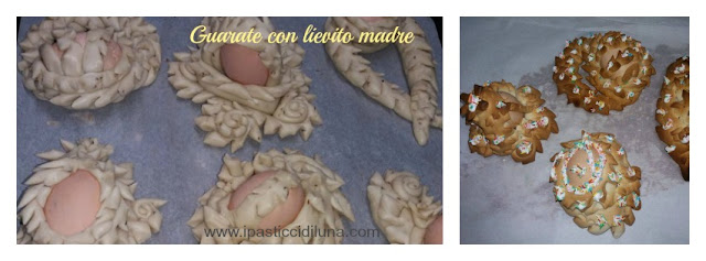 Guarate di Pasqua con lievito madre ipasticcidiluna foodblog