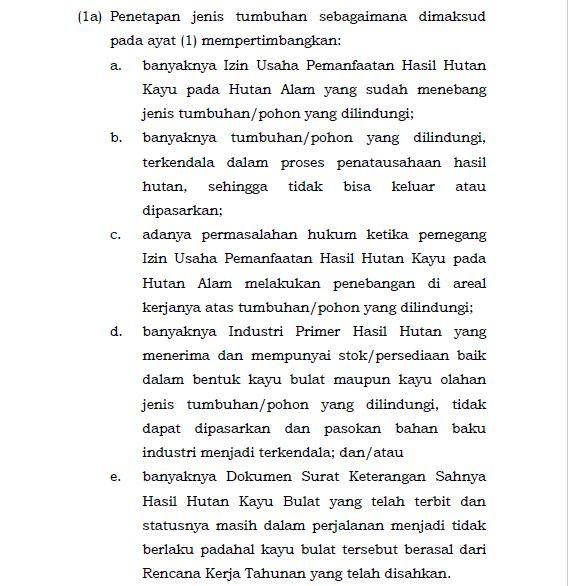Nomor P.106/Menlhk/Setjen/Kum.1/12/2018