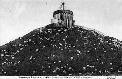 Sommet du Puy de Dôme.