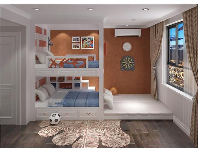 Phòng ngủ dành cho các con