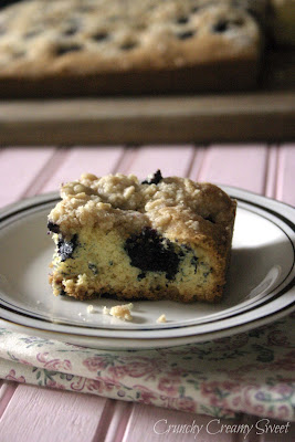 blueberrybuckle3 Buttermilk Blueberry Buckle and Fabulous Friday