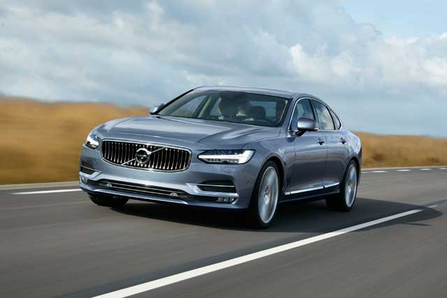 Volvo Commences Bookings For The All-New S90