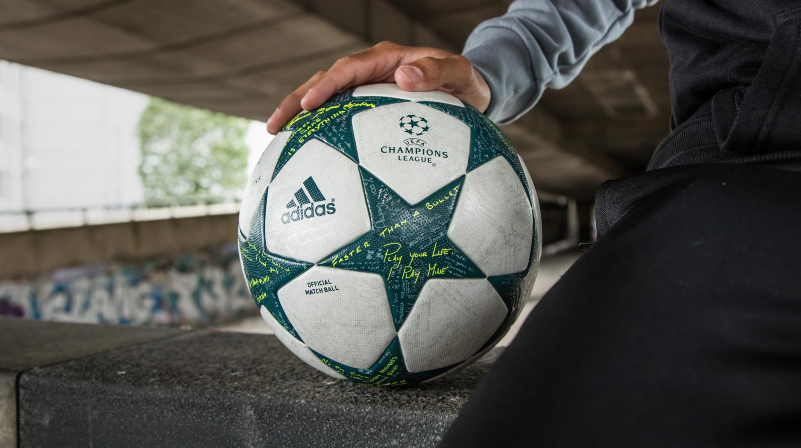 Adidas 16-17 Champions League Ball Released - Footy Headlines