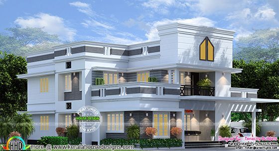 2250 sq-ft upcoming house at Aluva