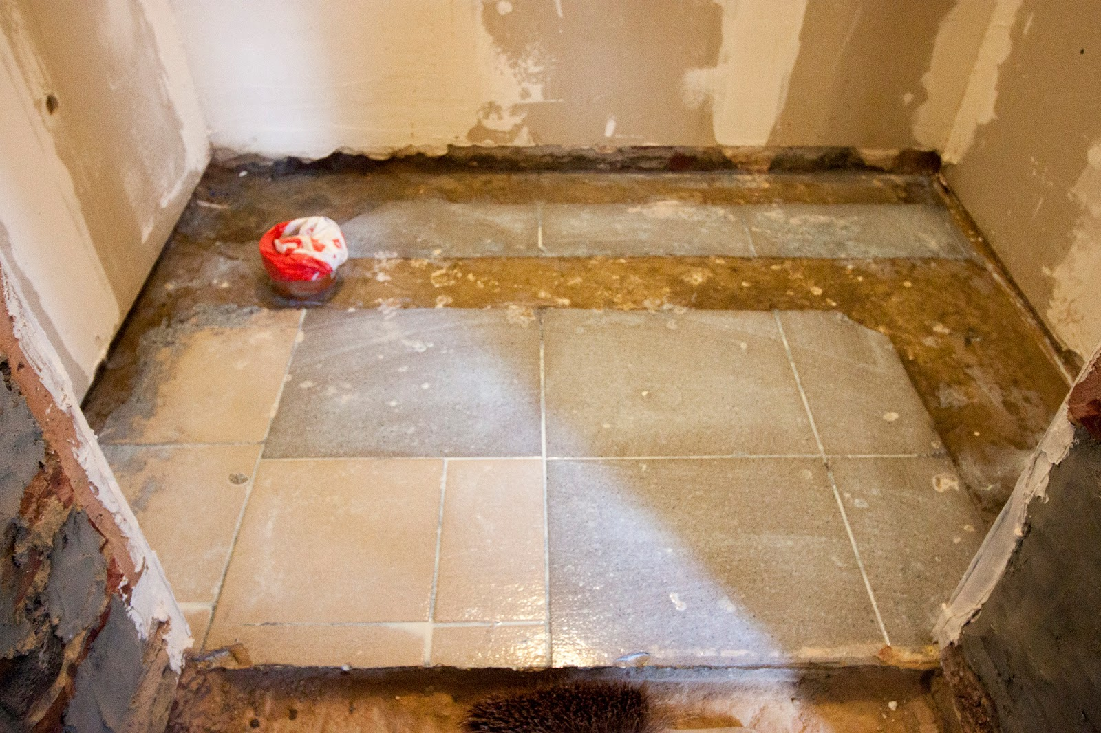 Floor primed for the next step...