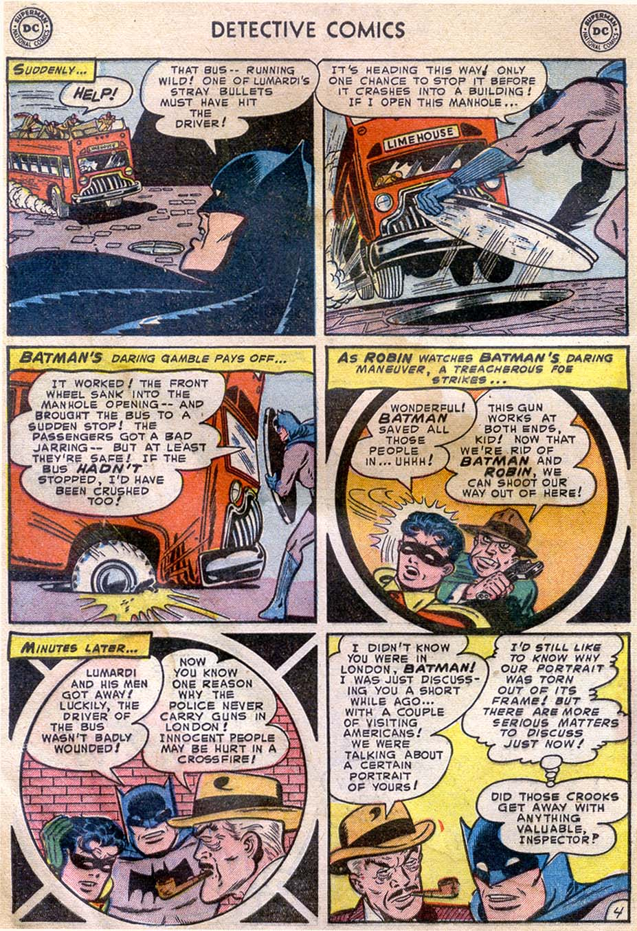Read online Detective Comics (1937) comic -  Issue #196 - 6