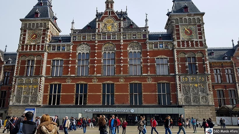 Estação Centraal - Diário de Bordo - 2 dias em Amsterdam