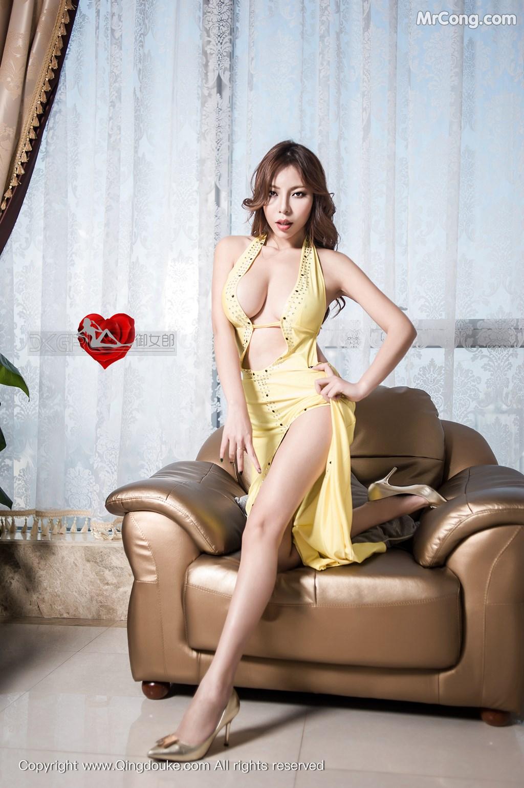 QingDouKe 2016-02-29: Người mẫu Elise (谭晓彤) (59 ảnh)