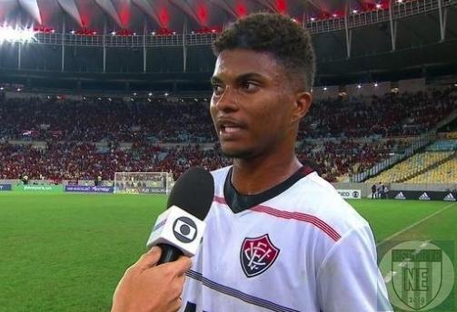 zagueiro Lucas Ribeiro do Vitória