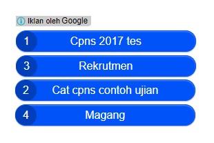 Iklan link Google Adsense