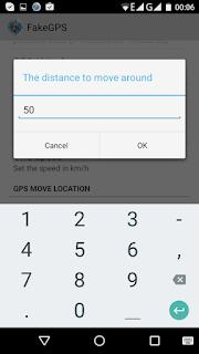 Fake GPS Distance Move Around 50