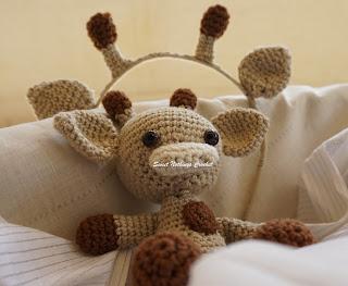 crochet giraffe amigurumi pattern, crochet giraffe toy pattern,  crochet giraffe headband pattern