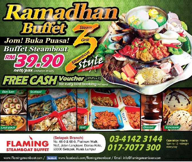 flaming steamboat, seksyen 33