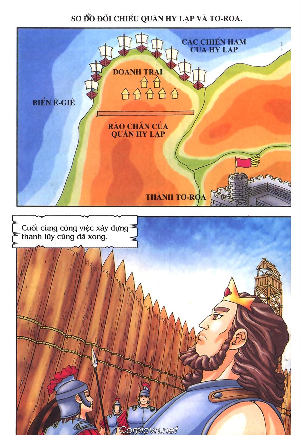 Thần Thoại Hy Lạp Màu - Chapter 55: Trận chiến đầu tiên - Pic 36