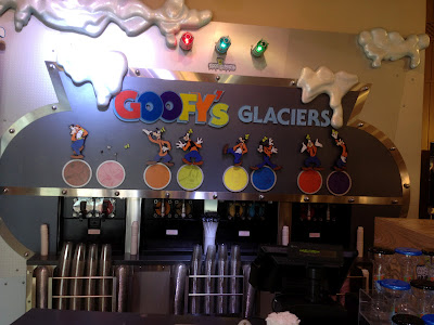 Goofy's Candy Co, Downtown Disney, goofy glaciers