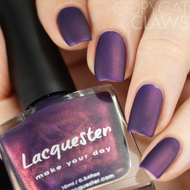 Lacquester Doomed Diva Swatch Matte