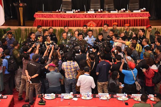 Panglima TNI : Penanggulangan Terorisme Demi Keutuhan NKRI