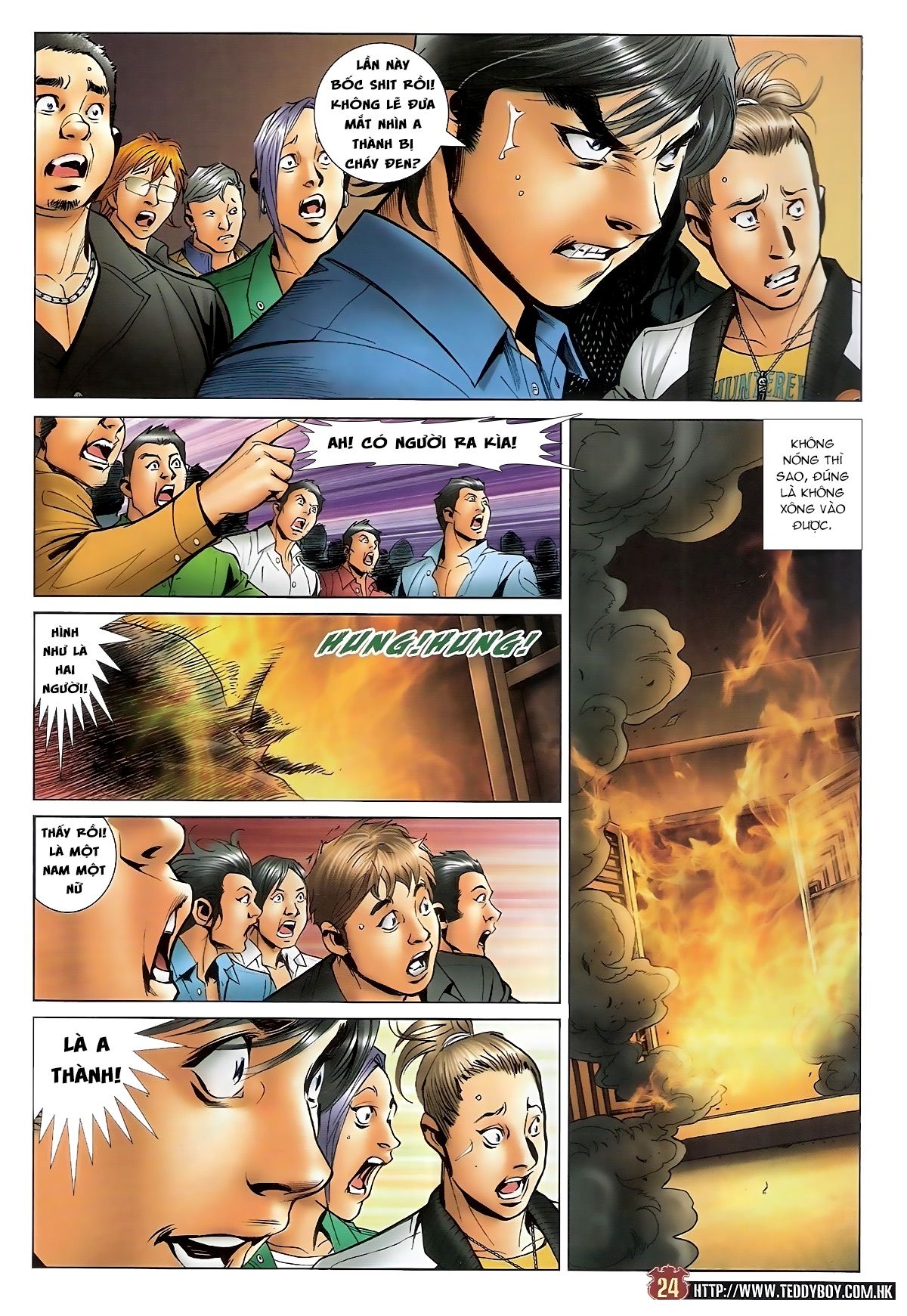 Người Trong Giang Hồ - Chapter 1569: Giang Hồ Tình - Pic 21