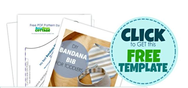 bandana bib free pattern