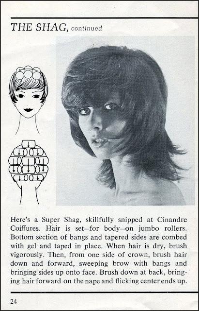 The shag haircut