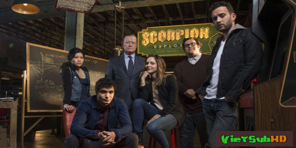 Phim Bọ Cạp (phần 2) Hoàn Tất (24/24) VietSub HD | Scorpion (season 2) 2015