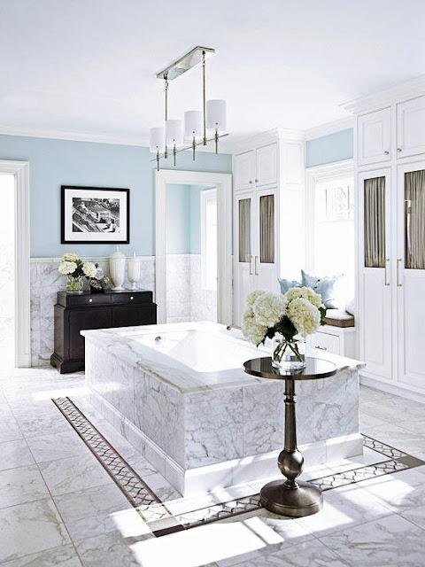 พื้นห้องน้ำ Elegant bathroom