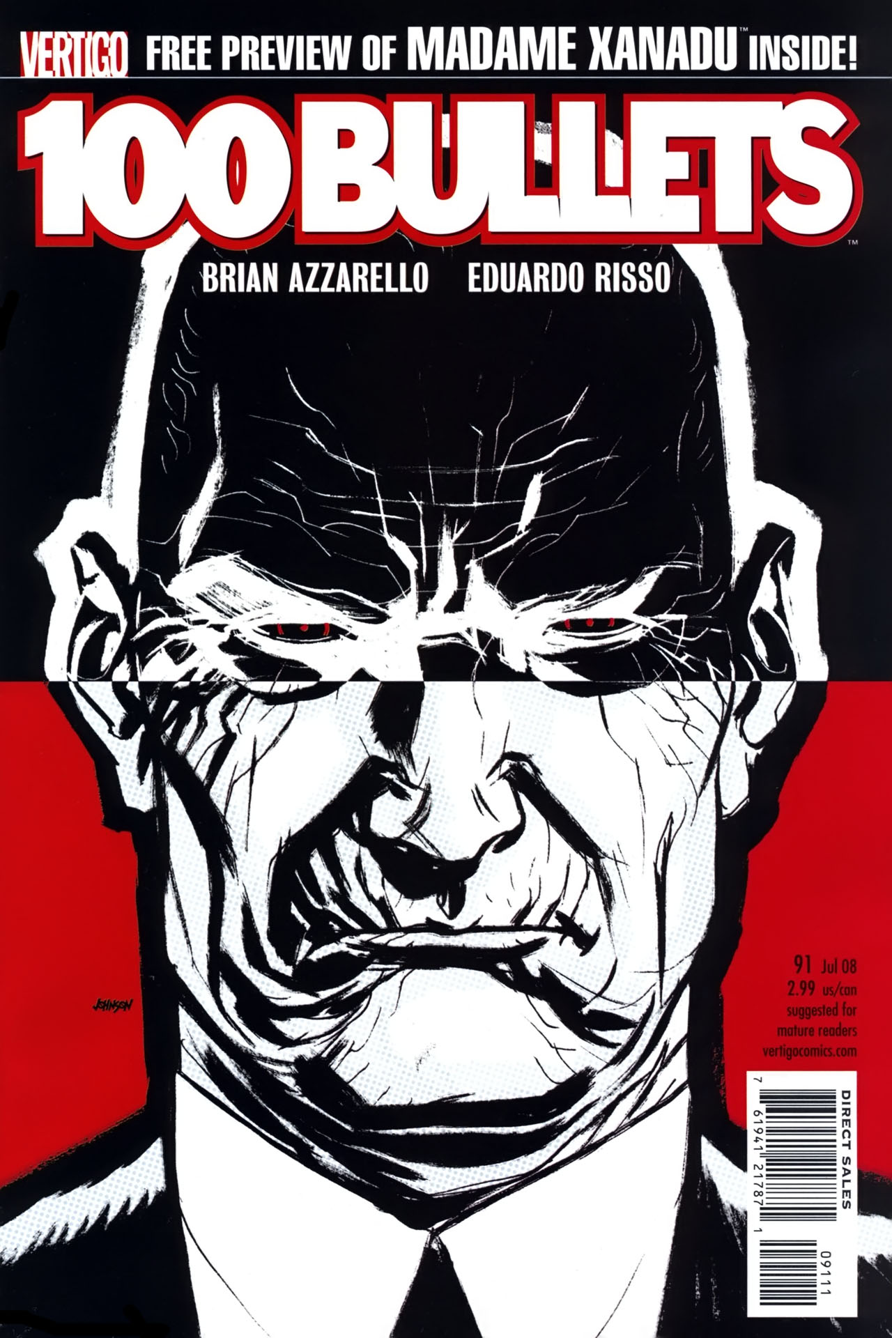 Read online 100 Bullets comic -  Issue #91 - 1