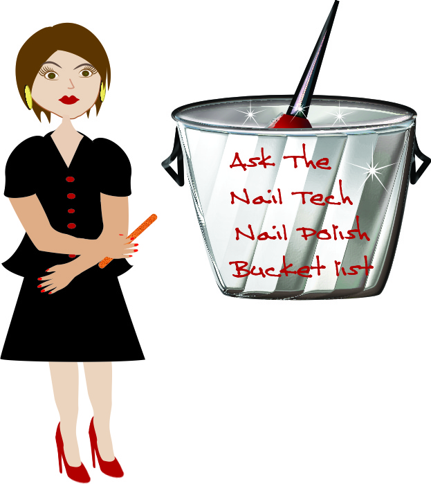 Nail Polish Bucket List humor